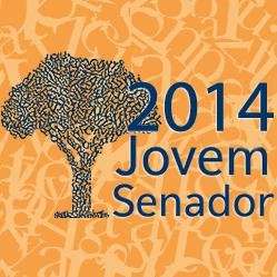 Logo do concurso Jovem Senador