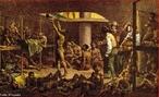 Imagem da tela de Johann Moritz Rugendas, de 1830, que representa o poema �pico &quot;Navio Negreiro&quot;, do poeta Castro Alves, a qual faz exalta��o do povo africano e narra um epis�dio da hist�ria em que os negros eram trazidos em navios negreiros ap�s a captura��o na costa da �frica. Esses navios tinham um grande problema com a higiene, todos os escravos vinham amontoados e fazendo suas necessidades fisiol�gicas no mesmo local em que estavam. Muitos morriam.  <br /><br /> Palavras-chave: Rugendas. �pico. Navio. Africano. Negros. Escravos. Poema. Castro Alves.