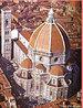 Imagem da C�pula da Catedral de Floren�a, que teve como arquiteto Filipo Brunelleschi, o pioneiro da arquitetura renascentista e  estudioso da arquitetura greco-romana e de sua teoria das propor��es.  <br /><br /> Palavras-chave: C�pula. Catedral. Floren�a. Arquitetura.