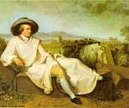 Retrato de Goethe, feito por Tischbein, em 1787. A partir da imagem o professor pode introduzir o tema Romantismo, uma vez que o autor alem�o � um dos mais eminentes representantes dessa corrente est�tica.  <br /><br /> Palavras-chave: Pintura. Goethe. Literatura. Romantismo.