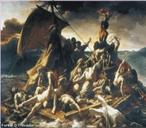 Imagem da tela de Th�odore G�ricault, que foi recriada por Asger Jorn, fundador do grupo radical chamado CoBra, que fundia princ�pios dos movimentos de vanguarda no in�cio do s�culo. Este quadro � uma das obras fundamentais do s�culo XIX. O tema retrata um acontecimento recente da �poca, o salvamento dos sobreviventes ao naufr�gio da fragata La M�duse, que se teria afundado perto da costa do Senegal, em 1816. <br /><br /> Palavras-chave: G�ricault. Naufr�gio. Vanguarda. Pintura.