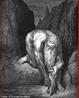 Imagem da ilustra��o de Gustave Dor�, do s�culo XIX, referente ao Canto XXXI de &quot;A Divina Com�dia&quot;. Nesta imagem Anteu ajuda Dante e Virg�lio na descida ao nono c�rculo - Lago C�cito. A imagem pode ser utilizada para se trabalhar com a obra de Dante, especialmente, o &quot;Inferno&quot;, primeiro dos tr�s longos poemas que formam a Com�dia. <br /><br />  Palavras-chave: Inferno. Poemas. Cantos. Divina com�dia. Dante Alighieri. Gigantes.