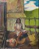 Imagem da obra Cabocla, de Anita Malfati, que com sua pintura foi considerada o estopim da vanguarda do moderenismo brasileiro.  <br /><br /> Palavras-chave: Cabocla. Anita. Vanguarda. Modernismo.
