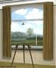 Figura da tela do pintor surrealista Ren� Magritte, intitulada &quot;A condi��o Humana&quot;. Nesta obra o artista questiona a rela��o entre a realidade e sua representa��o pict�rica.  <br /><br /> Palavras-chave: Surrealista. Ren� Magritte. Rela��o. Realidade. Pict�rica.