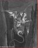Imagem da ilustra��o de Gustave Dor�, do s�culo XIX, referente ao Canto XVII de &quot;A Divina Com�dia&quot;. Nesta imagem Dante e Virg�lio est�o na garupa de Gerion descendo para o oitavo c�rculo. A imagem pode ser utilizada para se trabalhar com a obra de Dante, especialmente, o &quot;Inferno&quot;, primeiro dos tr�s longos poemas que formam a Com�dia.  <br /><br /> Palavras-chave: Inferno. Poemas. Cantos. Divina com�dia. Dante Alighieri.
