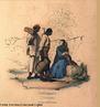 Imagem publicadas por Ludwig & Briggs, retratando carregadores de caf� e os castigos f�sicos sofridos pelos escravos em 1840. O professor pode utilizar a imagem para contextualizar historicamente o per�odo rom�ntico. <br /><br /> Palavras-chaves: Carregadores de caf�. Castigos f�sicos. Escravos. Romantismo.