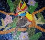 O mosaico � uma t�cnica j� usada desde a Antiguidade, constitu�da da jun��o harmoniosa de cacos de cer�mica, de modo a formar figuras.  <br /><br /> Palavras-chave: Mosaico. Antiguidade. Figuras. Linguagem.