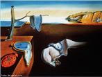 Esta obra, do s�culo XX, � um dos quadros mais famosos do espanhol Salvador Dali. Ela foi nomeada como &quot;A persist�ncia da mem�ria&quot;, pois, segundo o pr�prio pintor, as formas e cores de sua composi��o ficam gravadas na mem�ria at� mesmo de quem a observou apenas uma vez. Por meio da obra o professor pode explorar o movimento surrealista, sendo Dali um dos representantes mais extravagantes. <br /><br /> Palavras-chave: Persist�ncia da Mem�ria. Salvador Dali. Surrealismo.