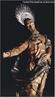 Imagem de uma escultura de madeira (cedro) dourada policromada de S�o Joaquim, feita por Ant�nio Francisco Lisboa, ou Aleijadinho, no s�culo XIX, acervo do Museu Arquidiocesano de Arte Sacra de Mariana - Minas Gerais. O professor pode explorar por meio da escultura os elementos que marcam o estilo Barroco, que se caracteriza pelo movimento, express�o de sentimentos fortes (dor, sofrimento, paix�o) e pelo grande exagero das formas.  <br /><br /> Palavras-chave: Escultura. Aleijadinho. Barroco. Arte. S�o Jos�. Literatura. Arte Sacra.