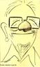 Caricatura do poeta gaúcho Mário Quintana. Por meio dessa imagem pode-se trabalhar com as especificidades desse gênero. <br /><br/> Palavras-chave: Gênero textual. Mário Quintana. Poeta. Caricatura.