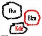 Imagem com exemplos da linguagem utilizada nos meios de comunicação virtual: o internetês, que se caracterizada pelas abreviações que permitem que a escrita acompanhe o ritmo da fala.  <br /><br/> Palavras-chave: Linguagem verbal. Internetês. Chat.