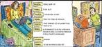 Imagem que apresenta um exemplo de comunicação no meio virtual, onde dois jovens conversam utilizando uma linguagem  característica desse meio: o internetês. Por meio dessa imagem pode-se trabalhar com essa nova modalidade de linguagem. <br /><br/> Palavras-chave: Diálogo. Internetês. Linguagem verbal. Linguagem não verbal. Comunicação.