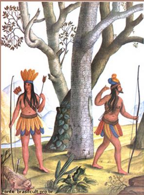 casal de índios disciplina lingua portuguesa